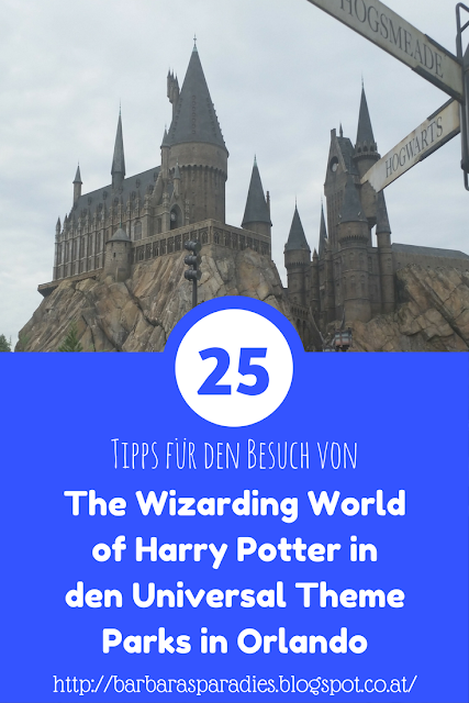 25 Tipps für den Besuch von The Wizarding World of Harry Potter in den Universal Theme Parks in Orlando