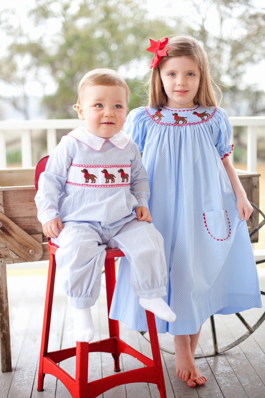 Smocked Children S Clothing