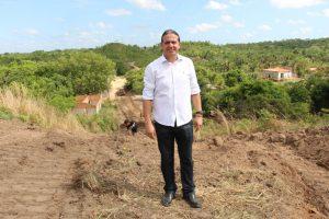 Prefeito Fábio Gentil retorna à prefeitura e dá ordem de serviço da Av. da Coheb que liga ponte do Luíza Queiroz à Pampulha