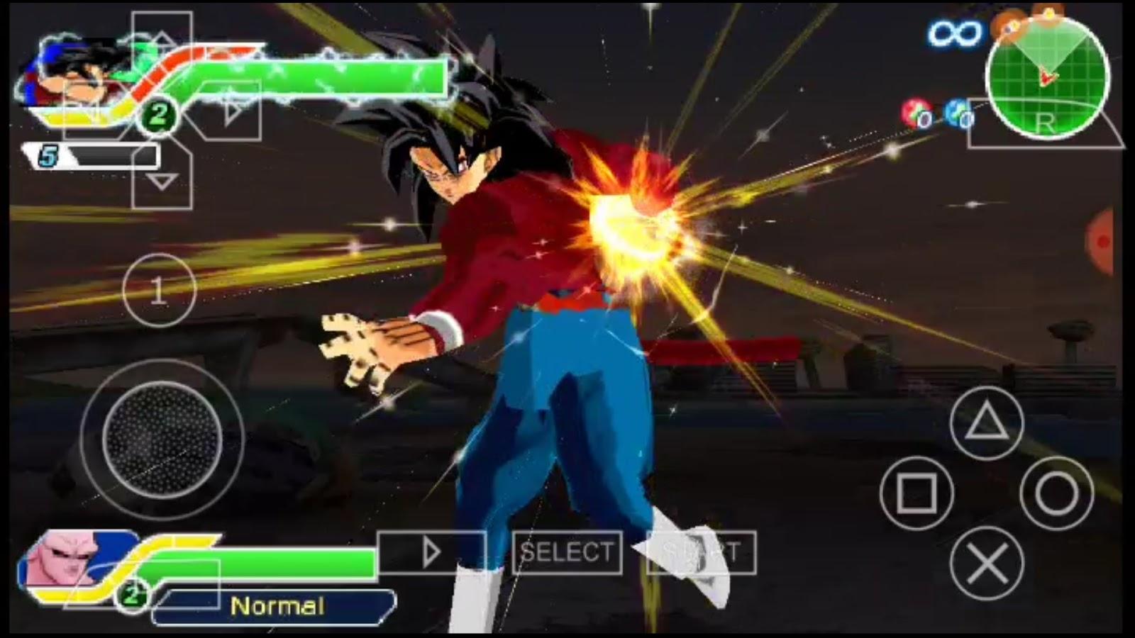 DBZ TTT Mods, DBZ TTT Ssj4 Goku