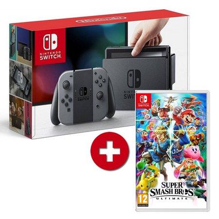 Sorteio: Ganhe Um Nintendo Switch + Super Smash Bros!