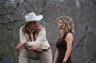 'PURE COUNTRY 2: THE GIFT' (2010). Reviewing the direct to DVD title with George Strait and Kartina Elam. All text © Rissi JC