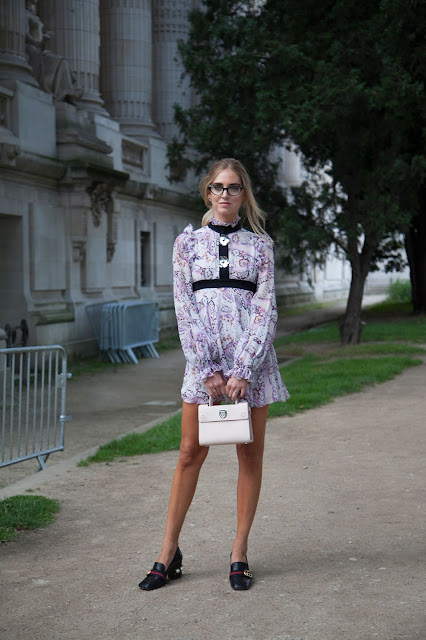 floral mini dress loafers