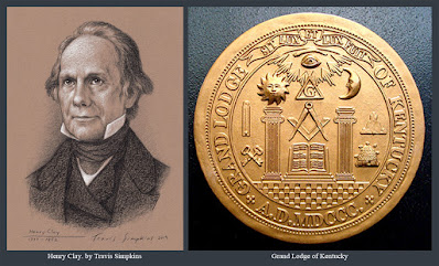 Henry Clay. American Statesman. Past Grand Master. Grand Lodge of Kentucky. by Travis Simpkins