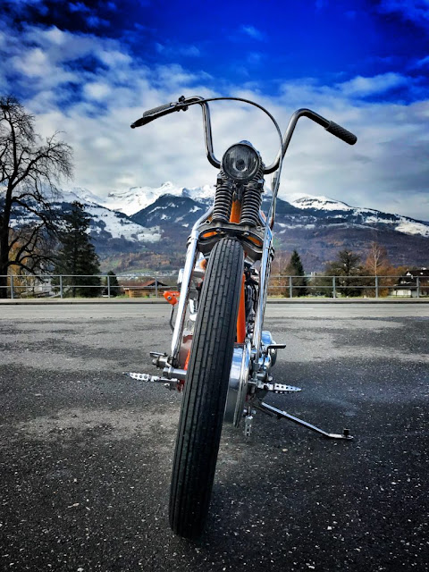 Harley Davidson Knucklehead By Bobber FL Motorcycles Hell Kustom