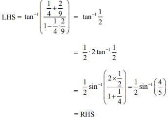 ncert solution class 12th math Answer 27