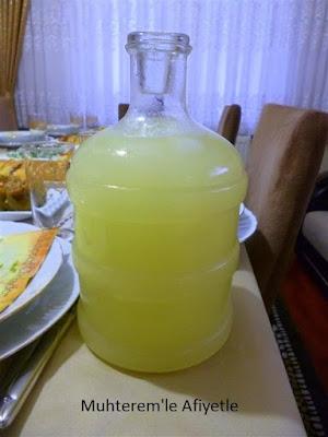 iftar için ev yapımı içecek önerisi
