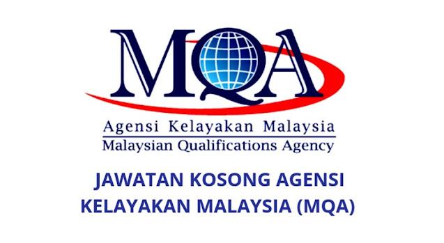 Jawatan Kosong MQA 2021 Agensi Kelayakan Malaysia