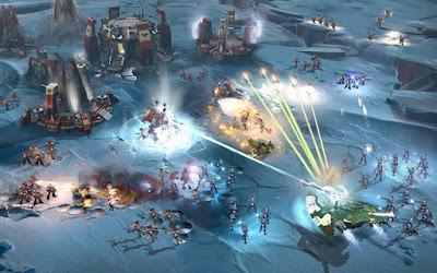 Những dòng sản phẩm của Relic tuy cũng là trò chơi RTS, nhưng rất khác so với AOE