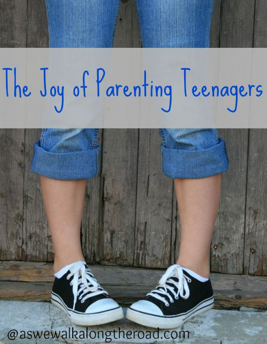 The joy of parenting teenagers