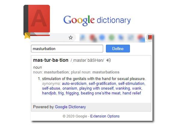 Google Dictionary - Ερμηνεία και προφορά άγνωστων αγγλικών λέξεων