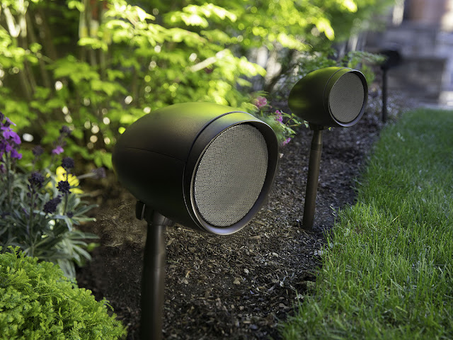 Control4 Debuts Triad Garden Array Patio speaker system