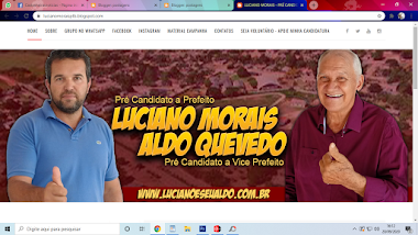 LUCIANO MORAIS E SEU ALDO - UNIDOS POR CASTANHEIRAS/RO (BLOG)