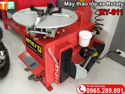 Bộ ép lốp máy tháo lốp xe máy RY811