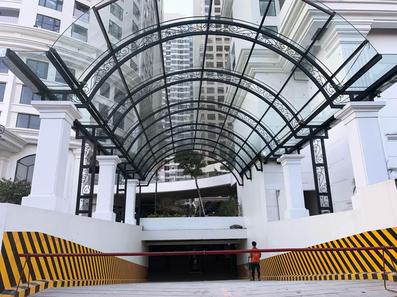 Hầm để xe dự án Sunshine Minh Khai