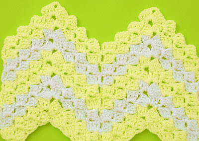 4 - Crochet Imagen Puntada zig zag a crochet en relieve Majovel Crochet