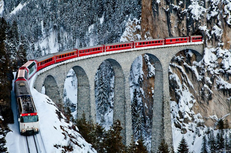 Top 10 Fun Things to See and Do in Switzerland - Explore the Swiss Alps by Rhaetian Railway