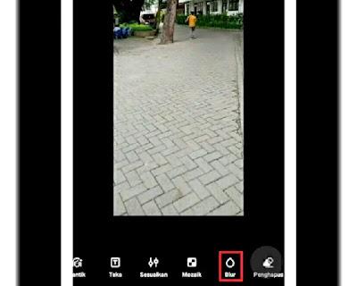 Cara Buat Efek Blur Foto di Ponsel Realme langkah 5