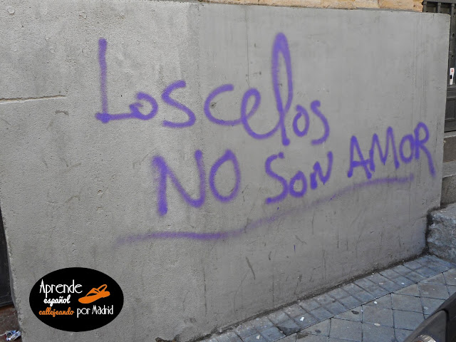 Aprende español callejeando por Madrid: La receta del amor