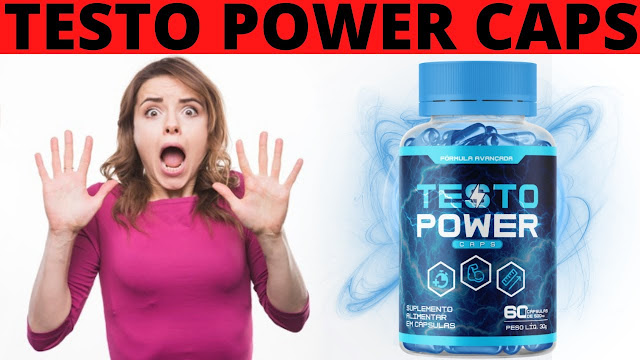 testo power caps bula