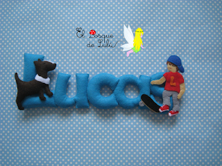 nombre-fieltro-Lucas-name-banner-skater-skate-decoración-infantil-regalo-personalizado-nacimiento-elbosquedelulu-hechoamanoparati