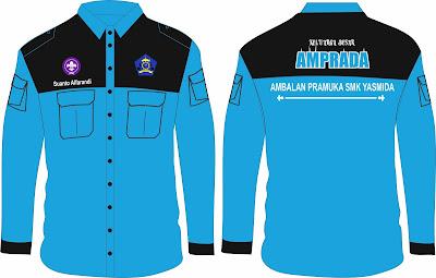 Desain Baju Keluarga Besar Pramuka SMK Yasmida Ambarawa