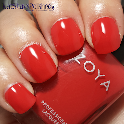Zoya Island Fun - Demetria | Kat Stays Polished