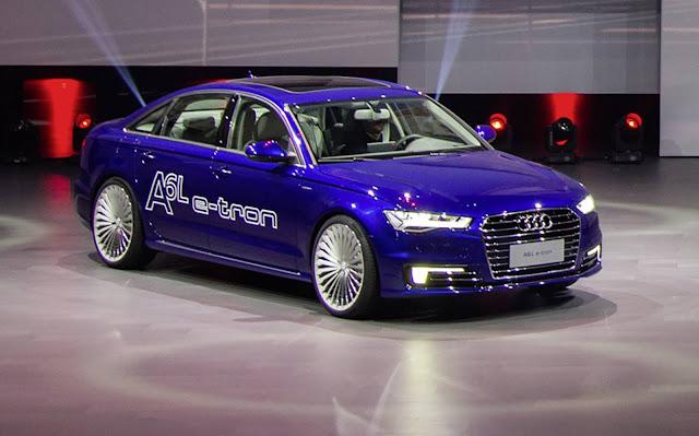 Audi A6 L e-Tron 2017