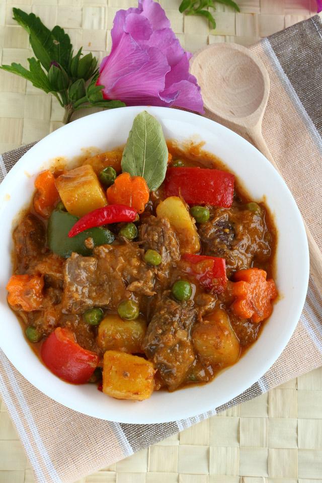 Experience the taste of Spicy Beef Caldereta