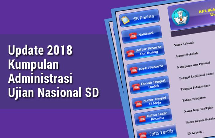 Kumpulan Administrasi Ujian Nasional SD