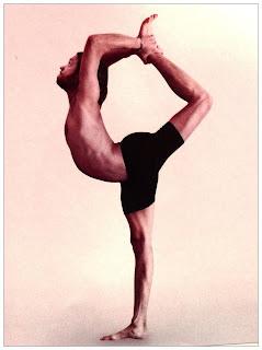 a modern day yogini natrajasana  take three