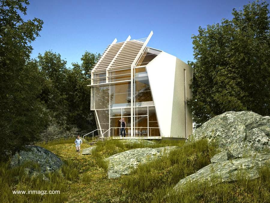 Casa ultra moderna sustentable