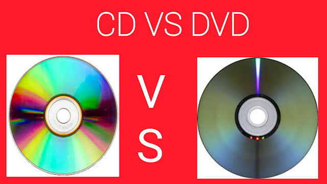 difference between CD and DVD