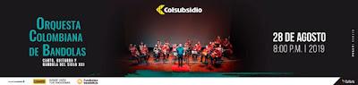 GALA ORQUESTA COLOMBIANA DE BANDOLAS