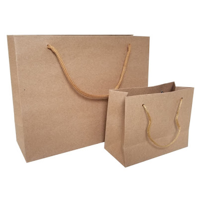 Shop Nile Corp Wholesale Plain Kraft Paper Gift Bag