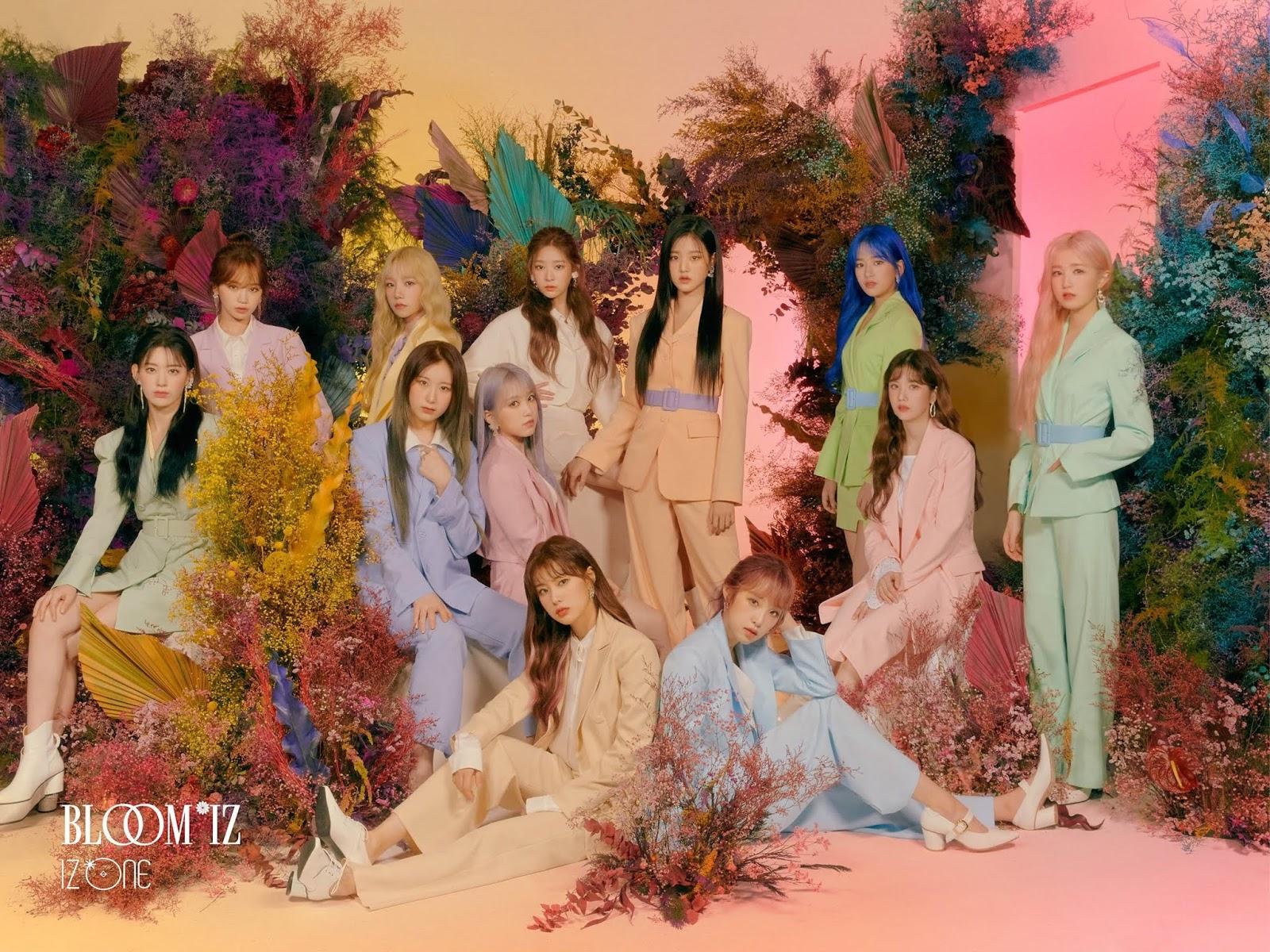 IZ*ONE's Member Looks Elegant on 'BLOOM*IZ' Teaser Photos