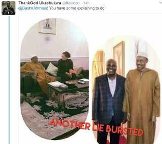 Again, Nigerians Fault Latest Buhari's Images, Say Gov. Amosun Currently In Ogun