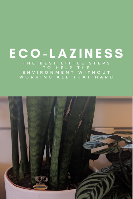 Eco-Laziness: The Simplest Things You Can Do to Help the Environment (that Actually Make Life Easier)