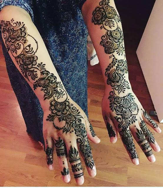 arabic mehndi designs images full hand