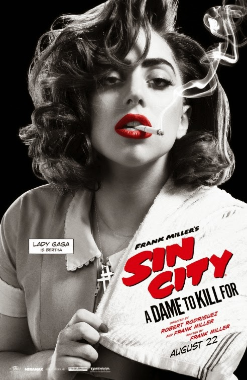 Sin City 2 Trailer Sin City 2 A Dame To Kill For Movie Poster