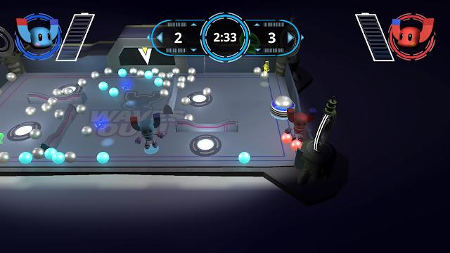 Waves Out! modo multijugador dos jugadores