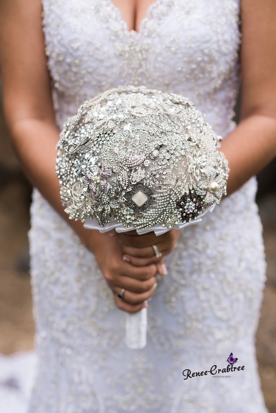 Bridal Brooch Bouquet