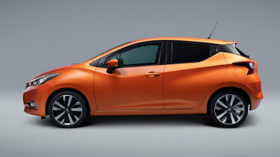 Nissan Micra 2017 side view