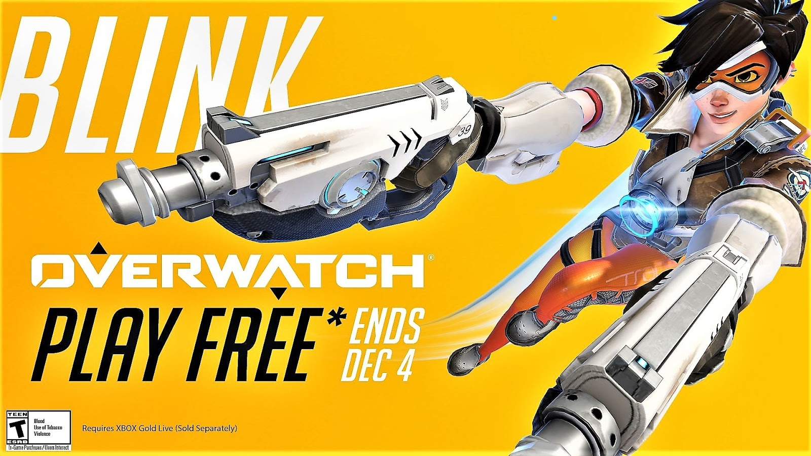You can now play Overwatch for free until December 4th 2019.