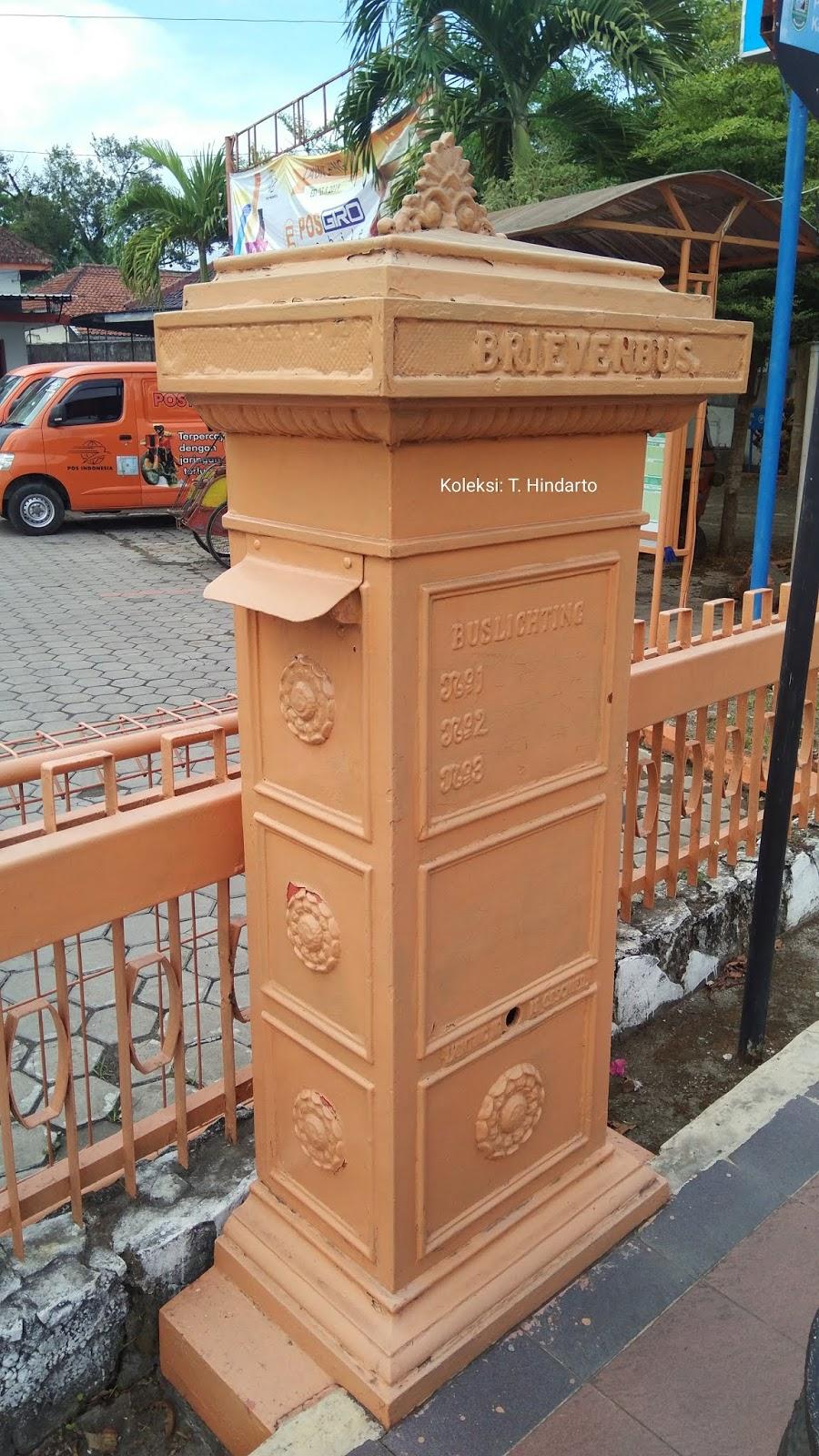 Brievenbus Di Kantor Pos Kebumen Saksi Bisu Perubahan Zaman dan Monumen Kenangan Sebuah Masa