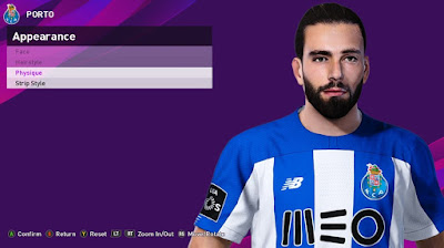 PES 2020 Faces Sergio Oliveira by Rachmad ABs
