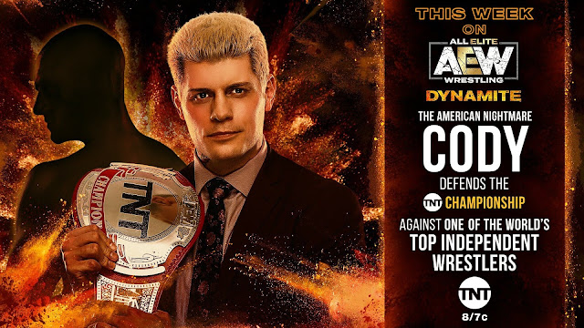 Lutador independente enfrentará Cody pelo TNT Championship