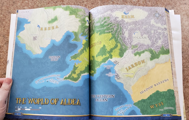 Pages from Blue Rose Adventure's Guide