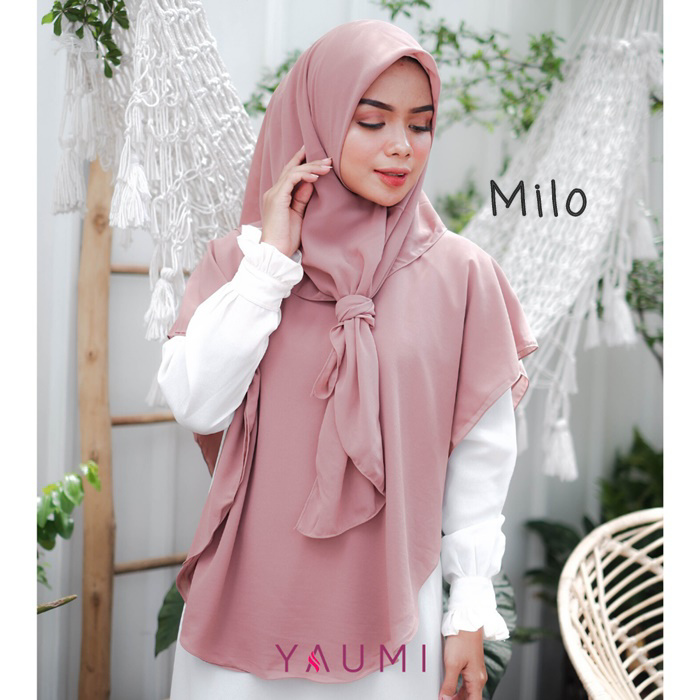 Yaumi Hijab Khimar Salma Milo