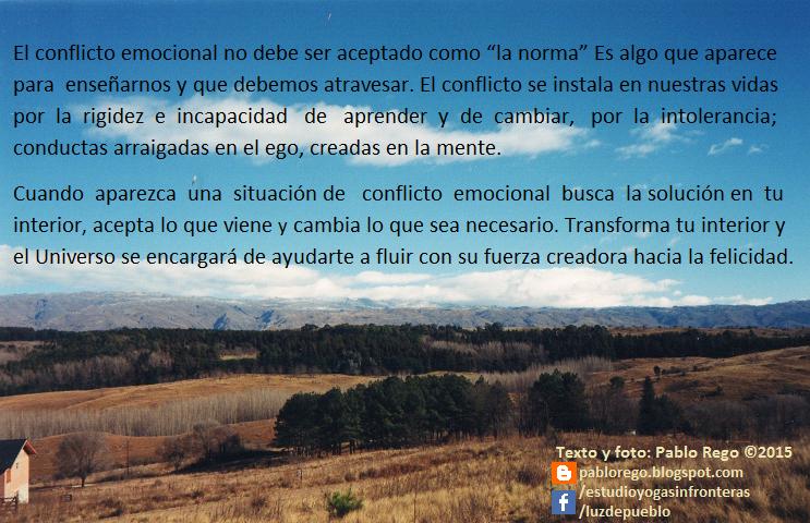 Más allá del conflicto...